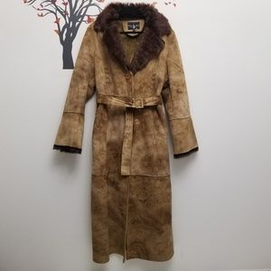 BABY PHAT Belted Trench Coat XL